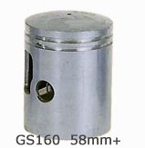 GS160 Std Piston Kit 58mm