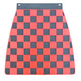 Red & Black Check Mudflap