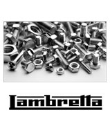 Lambretta S/3-GP Body Fixing Kit Stainless Steel