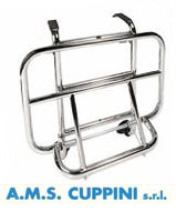 Vespa GT Models Chrome Front Carrier Cuppini